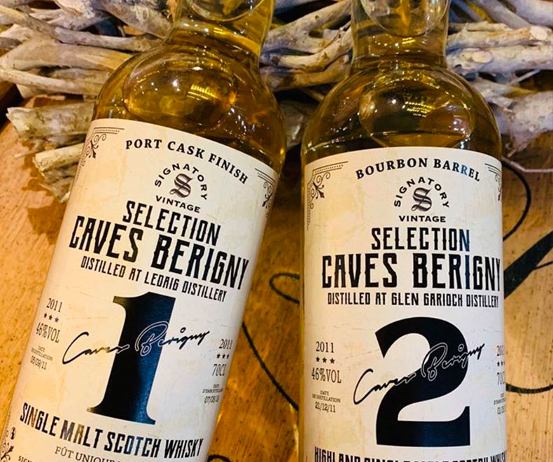 caves bérigny bourbon barrel